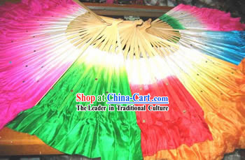 Chinese Silk Dance Fan