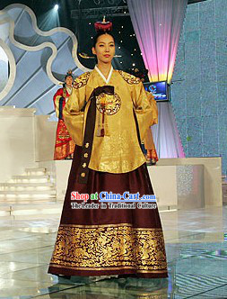 Ancient Korean Princess Palace Hanbok Complete Set