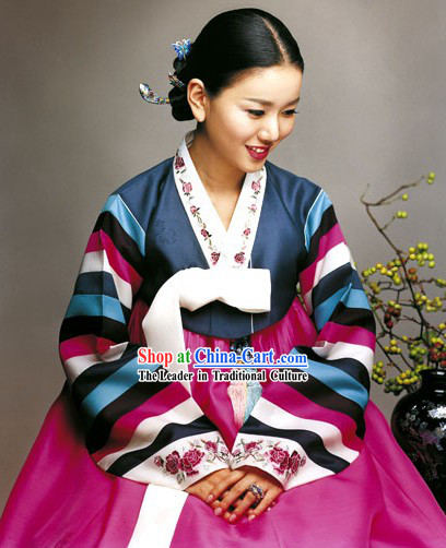 Traditional Korean Hanbok Clothing Set