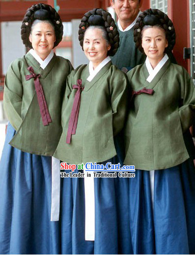Ancient Korean Working People Costume