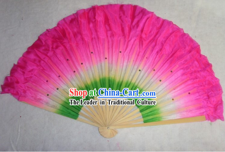 Supreme Chinese Silk Dance Fan with Sequin