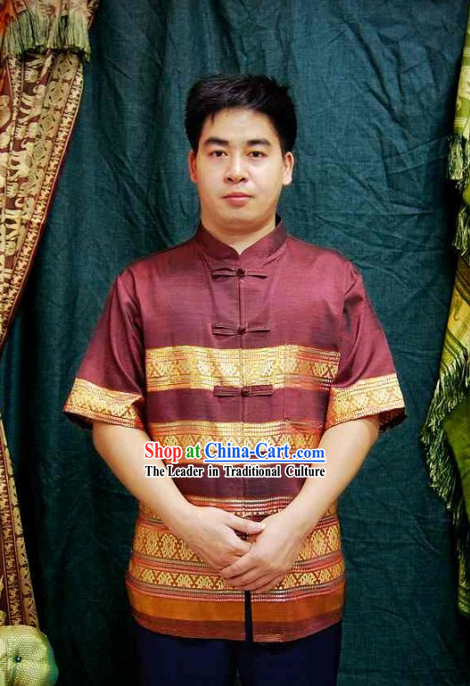 Traditional Thailand Men Blouse
