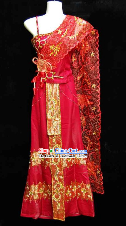 Traditional Thailand Wedding Dress for Men