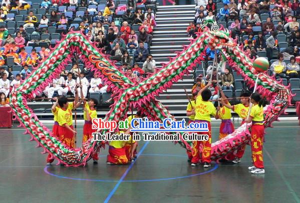 Top Quality Luminous Phoenix Tail Dragon Dance Costume ...
