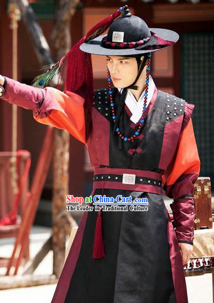 Ancient Korean General Costumes for Men