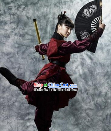 Hong Gil Dong Ancient Korean Swordwoman Costumes for Women