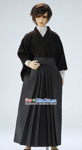 Japanese Kimono Yukata Geisha Samurai Costume Costumes ...