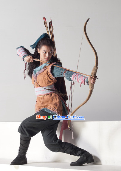 Traditional Korean Archer Costumes