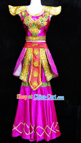 Southeast Asia Traditional Laos Dancewear for Women
