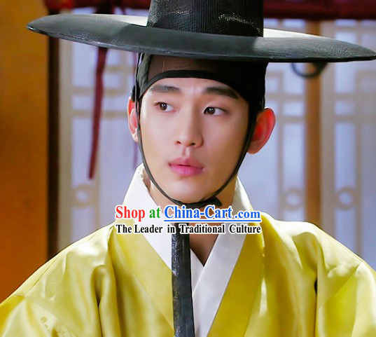 Kim Soo Hyun Man from the Stars Ancient Korean Male Costumes and Hat
