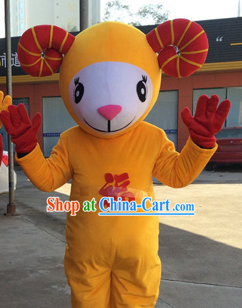 Chinese New Year Sheep Costume Complete Set