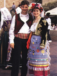 Traditional Greek Costumes
