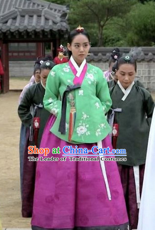 Royal Korean Princess Hanbok Outfits for Girls