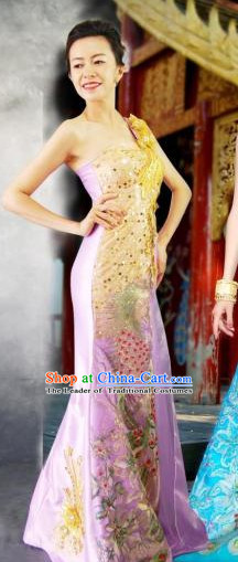 Traditional National Thai Garment Dress Thai Traditional Dress Dresses Wedding Dress online for Sale Thai Clothing Thailand Clothes Complete Set for Women Girls Adults Youth Kids