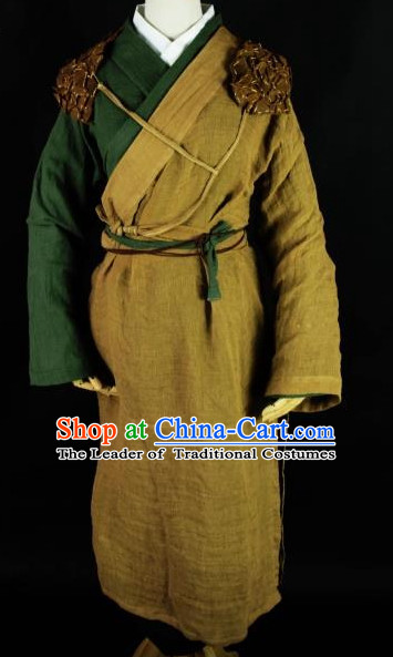Asian peasant costume