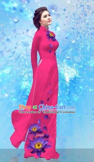 Vietnam Ao Dai Traditional Dress Buy Dresses online Casual Dresses ...