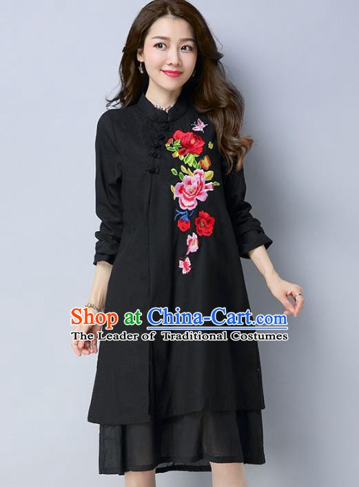 6d66ed7e0ae Traditional Ancient Chinese Young Women Cheongsam Dress Republic of China  Tangsuit Stand Collar Blouse Dress Tang